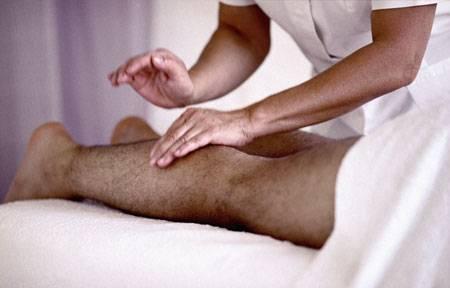 массаж ног при варикозе фото