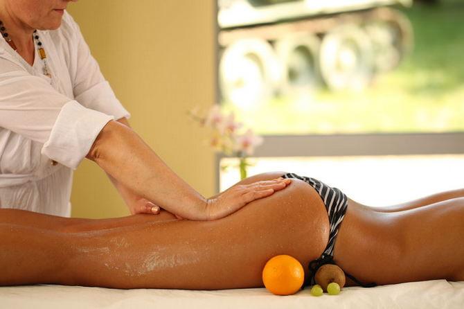антициллюлитный массаж