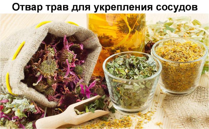 травы для сосудов