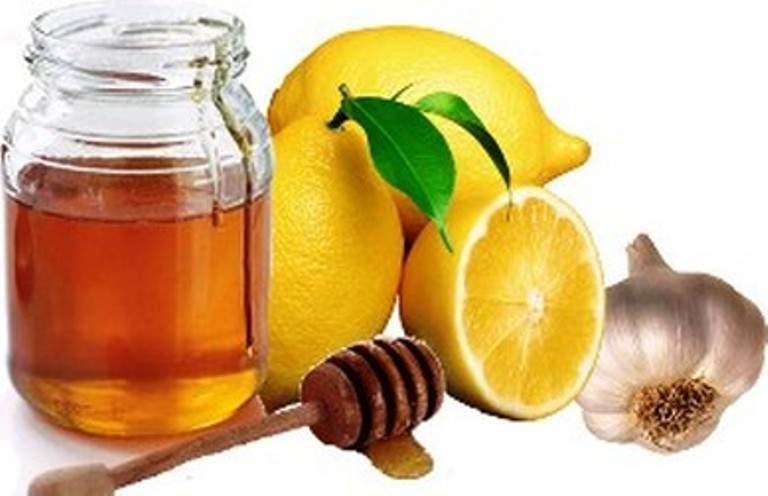 чесноком и лимоном