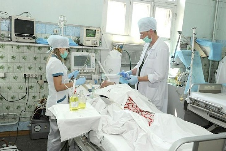 отделении реаниматологии