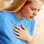 резкая боль за грудиной