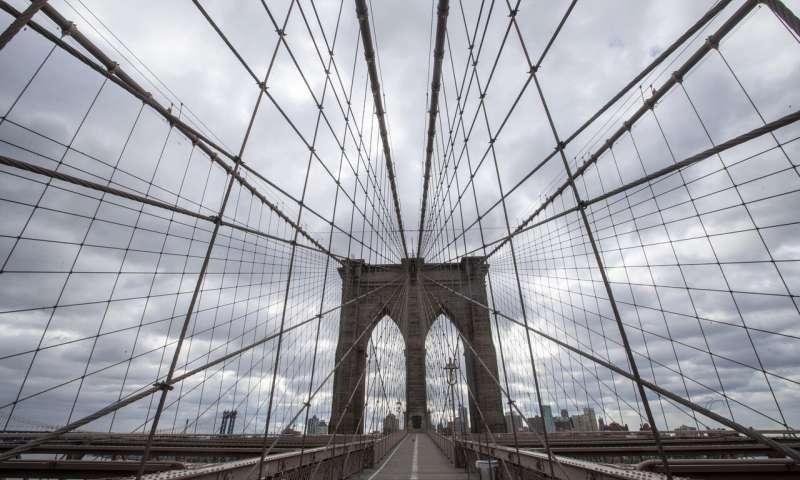 Смертность от вирусов в Нью-Йорке быстро растет, но госпитализации замедляются