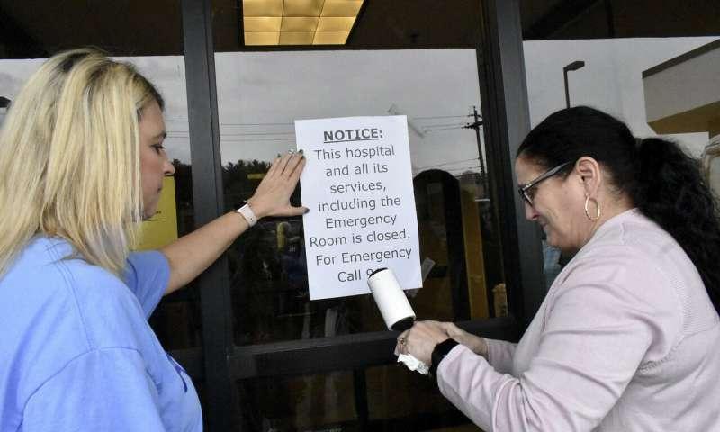 Закрытие больниц усложняет уход за коронавирусами в сельской местности
