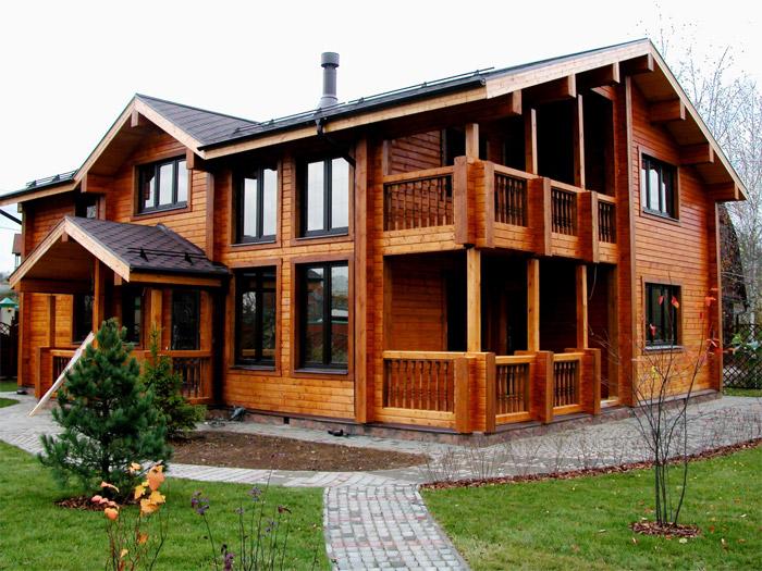 Преимуществ строительства дома из профилированного бруса